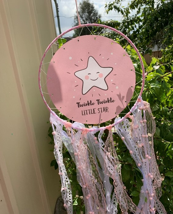 Twinkle Twinkle Little Star Dream Catcher